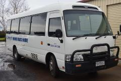 21 Seater Toyota Coaster Bus - Self-Drive Hire