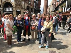 Group or private tour of Medieval Walled City of Chester & the beautiful Village of Port Sunlight