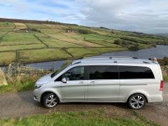 Private Luxury Door to Door guided day out to Howarth & York (6 guests max) from Manchester