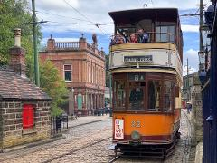 Visit Crich Tramway Village, Monsal Head & Matlock Bath - Private day out for up to 6 guests with door to door service from Liverpool or Manchester