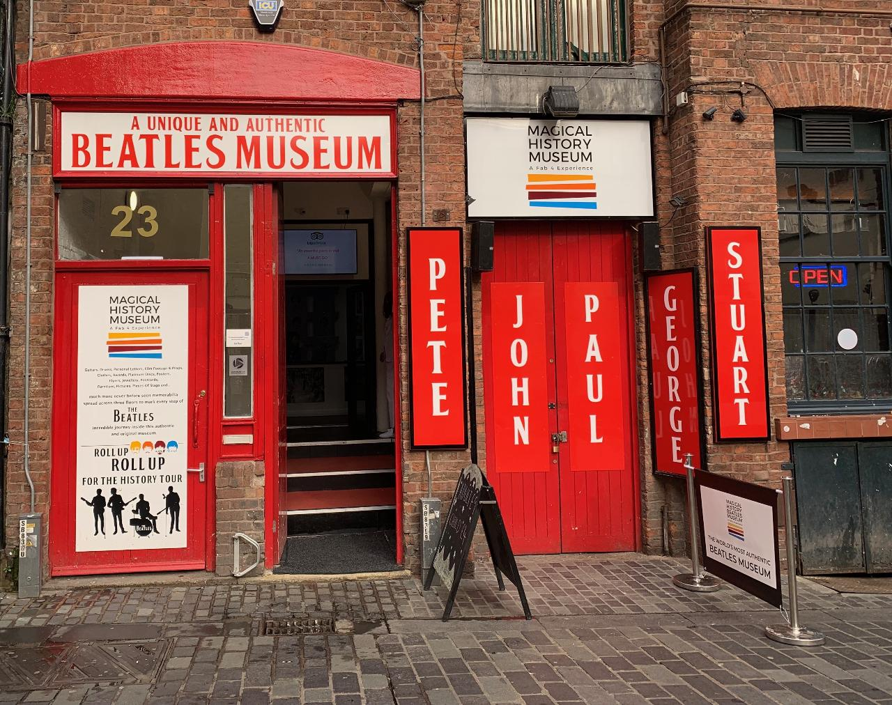 "** New for 2019 ** Afternoon Beatles Walk & Magical Beatles Museum experience. Includes John & Yoko ""Double Fantasy"""