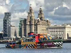 Port Sunlight, Mersey Ferry & Liverpool (Group or Private Tour) - available in six languages.