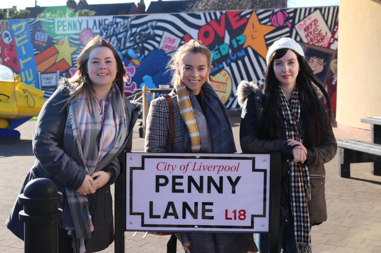 """Liverpool Beatles Walk & Ticket to Ride Tour with new """"Double Fantasy"""" John Lennon & Yoko Ono exhibition."""