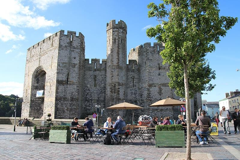 Luxury Private Guided Shore Excursion from Holyhead - Snowdonia scenic drive, Welsh Highland Steam Railway and Caernarfon Castle for up to 6 guests