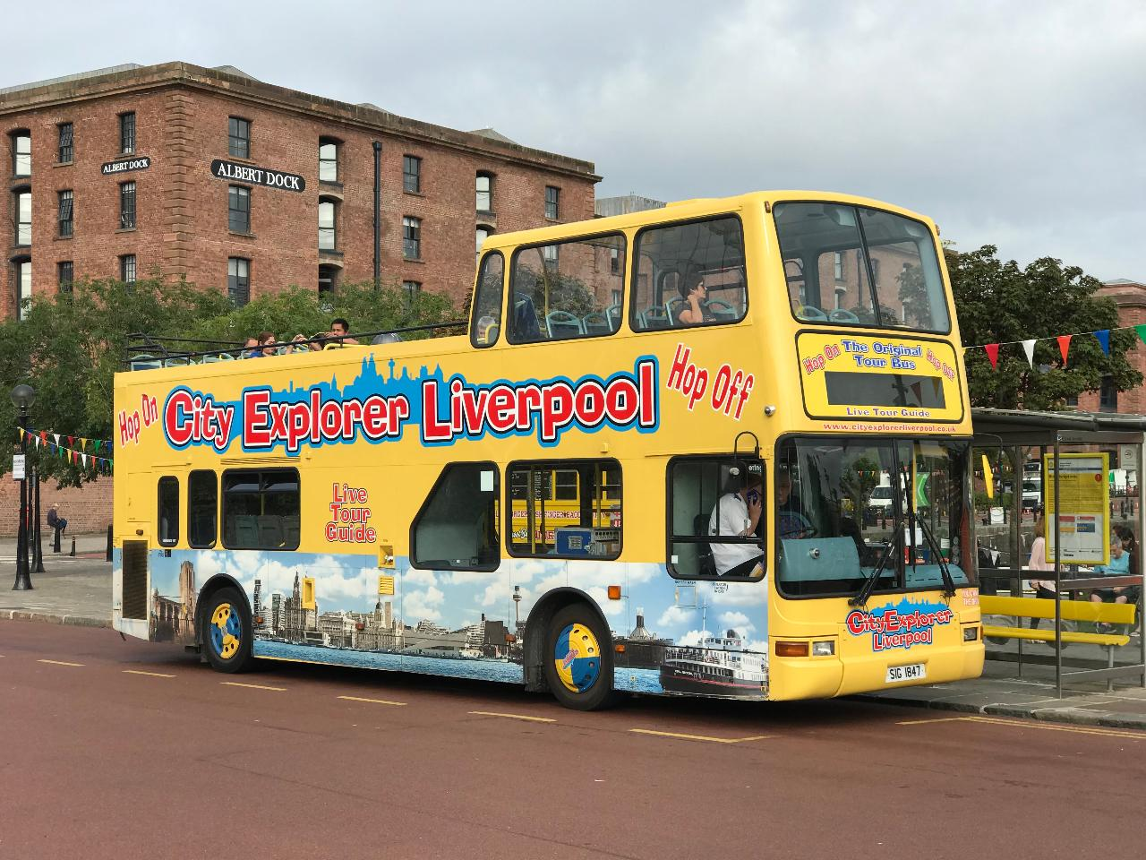 The Liverpool Pass - Guided Walk, 138m Tower Tour, River Cruise & Open Top Bus