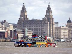 Private Liverpool Group tour including 138m Tower Tour, River Cruise (part of the day is in chauffeur driven V-class Mercedes or executive motor coach)