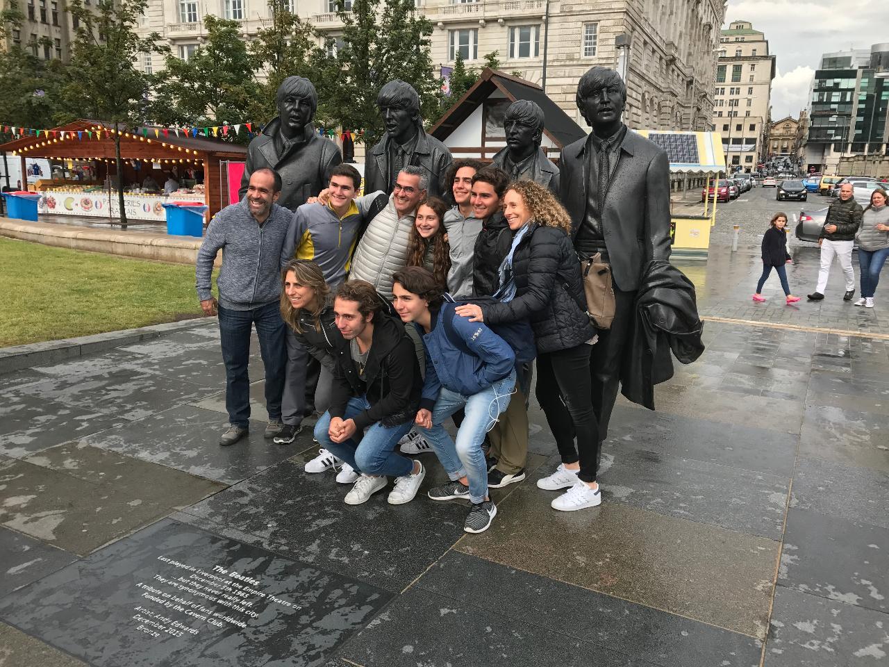 deux heures -visite guidée à pied Liverpool - en français
