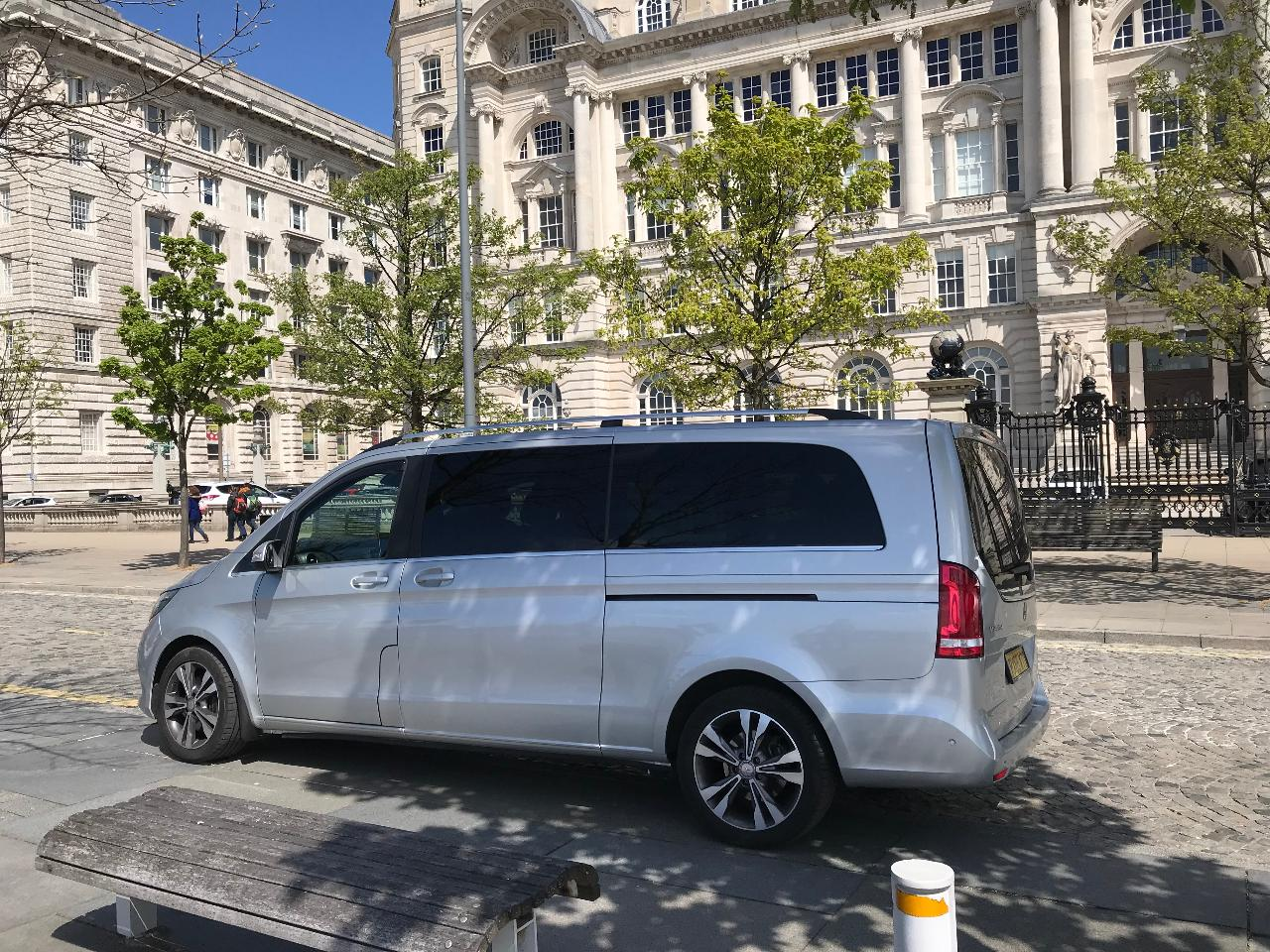 Private Beatles and Liverpool tour in Mercedes MPV - V-class - available in English, French, German or Spanish for up to 6 guests