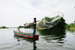 Traditional Net Fishing in the Isletas
