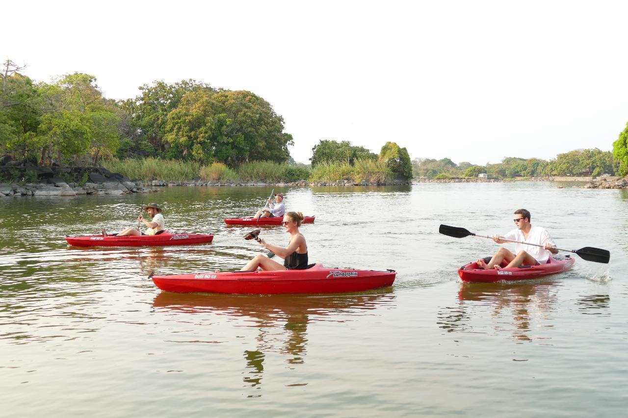 Kayak in the Isletas