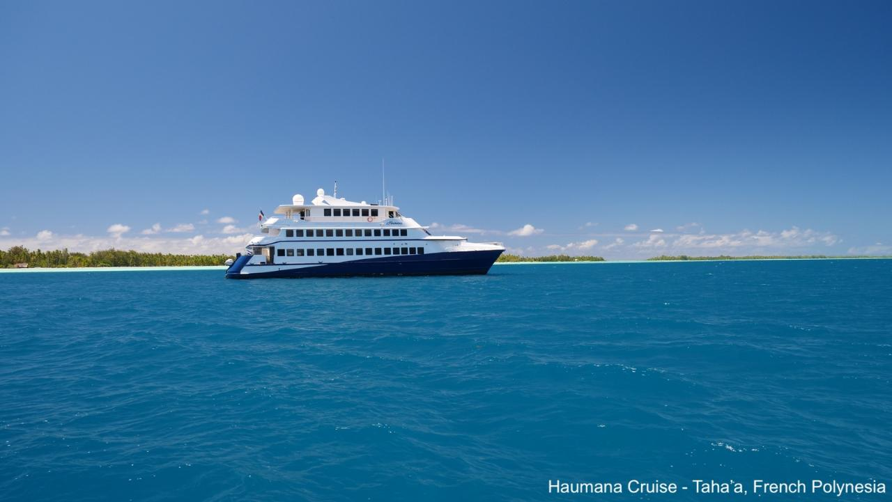 Cook Islands & Tahiti + Bora Bora to Raiatea Cruise 12 Night Package