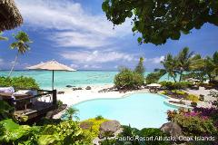 Cook Islands & Tahiti + Bora Bora to Raiatea Cruise 12 Night Upgrade Package