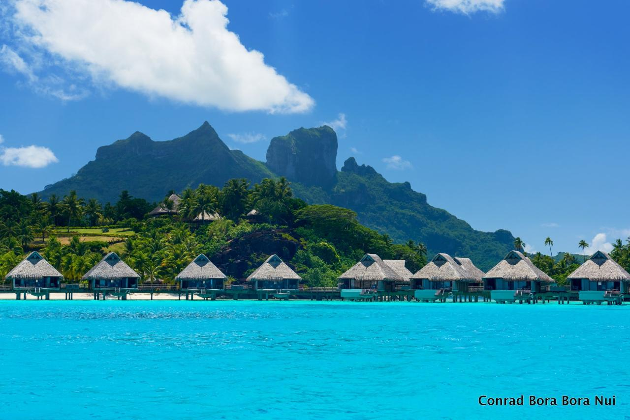 Tahiti Moorea Bora Bora Indulgence Luxury Package Air