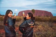 Uluru Sunset: HARLEY