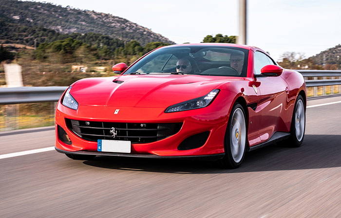 Ferrari Portofino Rental by days (FP46)