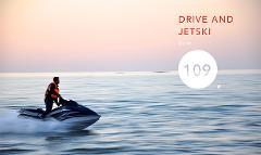 """Jetski 30"""" & Porsche 911 Cabrio 20"""""""