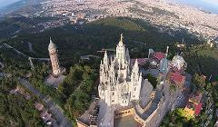 Tibidabo & Ferrari 458 Spider - 90min City Tour