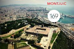 Montjuic & Ferrari California - 40min City Tour