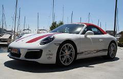 Porsche 911 Cabrio Rental by hours