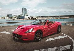 Ferrari California Rental by hours