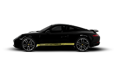 Porsche 911 Coupe Rental by hours LCR