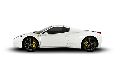 Ferrari 458 Spider Rental by hours LCR