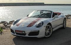 Porsche 911 Cabrio Rental by hours