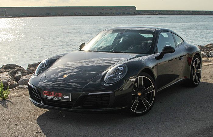 Porsche 911 Coupe Rental by hours