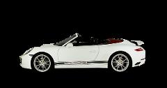 Porsche 911 Cabrio Rental by days LCR