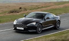 Aston Martin DB9 Rental by hours