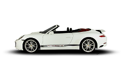 Porsche 911 Cabrio Rental by hours LCR