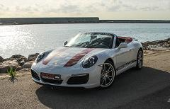 Porsche 911 Cabrio Nightly Rental