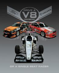 Ultimate V8 and Single Seater - 8 Laps Taupo*