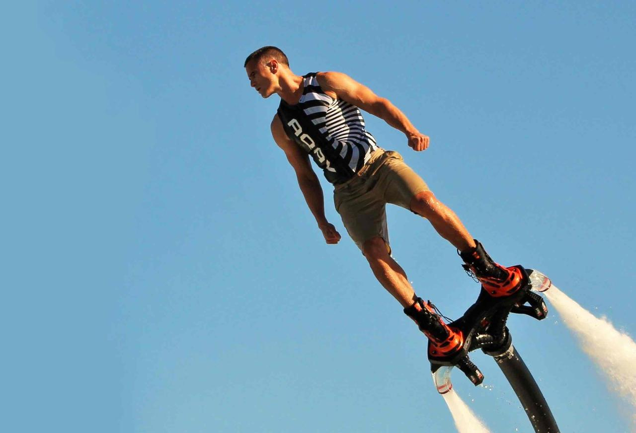Flyboarding Phillip Island