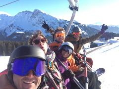 Skiing / Snowboarding w/c 30 March 2019 (Chalet Skade)