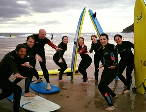 Progressive surf weekend in Cornwall