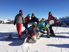 Skiing / Snowboarding w/c 13 April 2019 (Chalet Hubert)