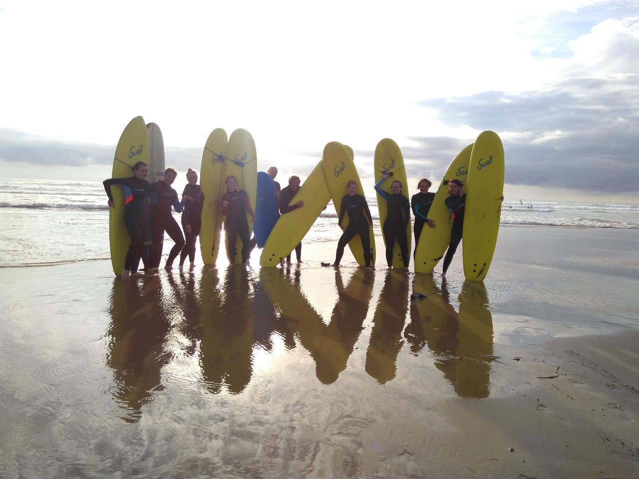 Regular surfing weekends in Cornwall throughout the summer