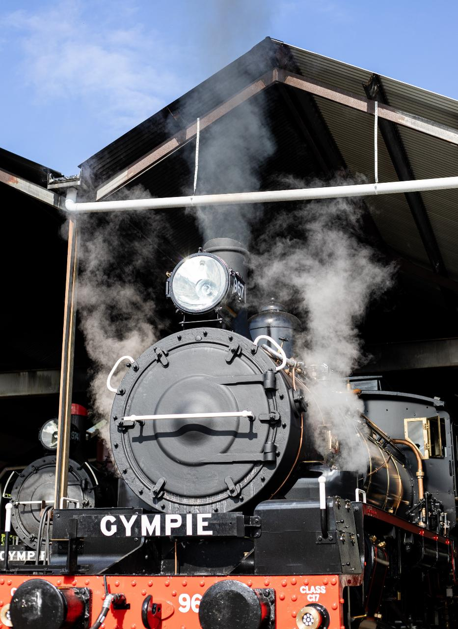 Double Steam Day - C17 Locomotive No. 967 - Sat 31st August from Gympie to Amamoor (Return)