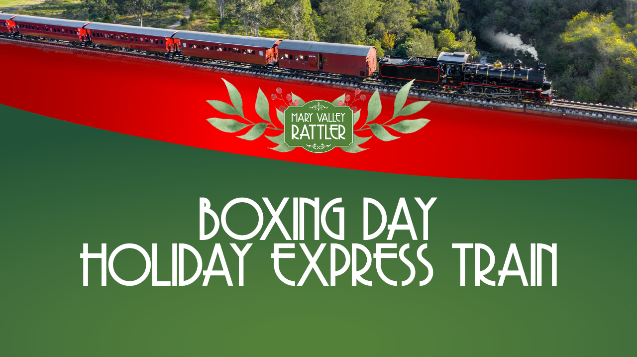 The Holiday Express - 26th December Gympie to Amamoor (Return)