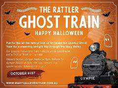 The Trick or Treat Train - Departs Sunday 31st October - Gympie to Amamoor (Return)