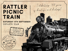 140th Railway Anniversary  - Departs Saturday Gympie to Amamoor (Return)