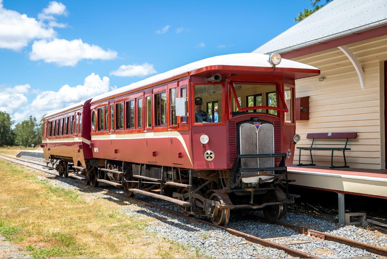 The Rattler Tasting Train - Departs Thursdays 10:00am Gympie to Amamoor (Return)