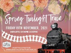 Twilight Train -  Departs 19th November -  Gympie to Amamoor (Return)
