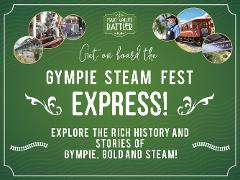 Gympie Steam Fest 2021 Express - Departs  Saturday & Sunday 16th & 17th October - Gympie to Amamoor (Return)