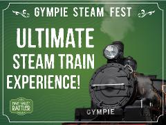 Steam Fest 2021 – Ultimate Steam Train Experience  - Departs Sunday 17th October - Gympie to Amamoor (Return)