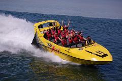 Rotorua, Lake Rotorua Jet Boat & Te Puia - Tauranga Shore Excursion