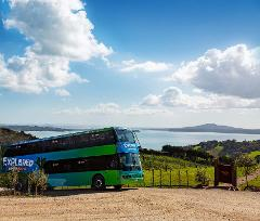 Waiheke Ferry & Hop on Hop off Explorer - Everyday AND Auckland Shore Excursion