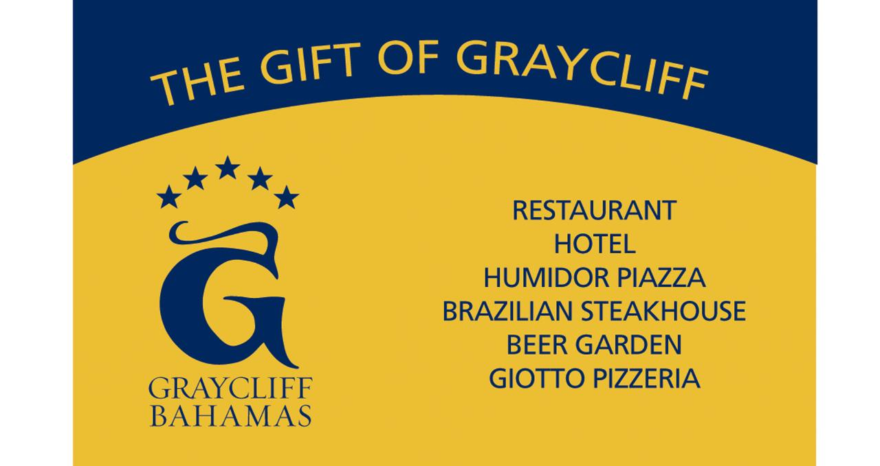 Graycliff Dining Gift Card
