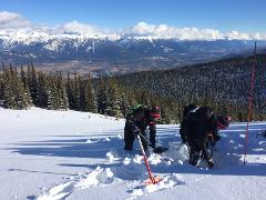 Snowmobile AST 1 - Full Course in McBride, BC